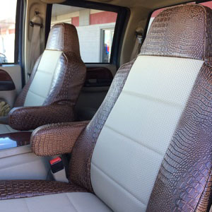 vehicle seat covers - ford