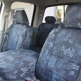 front seat view - covers - dodge