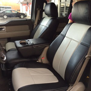 ford vehicles with covered seats