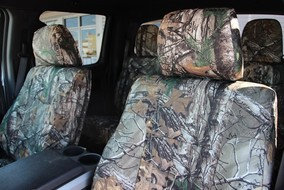 Your seats will look great with a custom fit cover