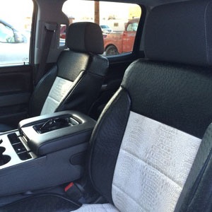 exotic and black hmc seats