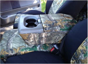 2008 f150 - realtree xtra/black dura - center console