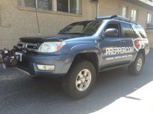 2005 4Runner - Kryptek Typhon - vehicle