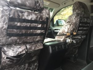2017 tundra kryptek raid back of front seat