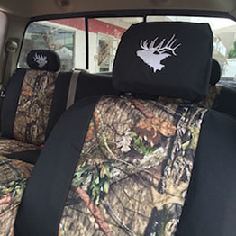 2004 dodge mossy oak nb country with black trim seat covers front and back seats