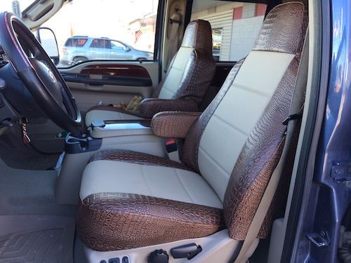 2005 2010 Ford F 250 350 Leather Seats Sim Leather Covers