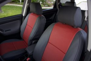 2005 toyota matrix red perf black softouch