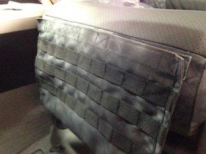 2010 Tundra - Kryptek Typhon & Black Perf Sof-Touch - tactical driver pocket