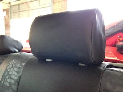 2010 Toyota Tundra Kryptek Typhon Perf Black Seat Covers
