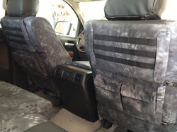 both sides tactical - 2010 Tundra - Kryptek Typhon & Black Perf Sof-Touch