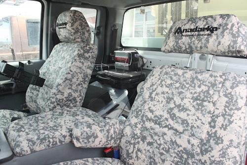 2012 Ford F 250 Custom Driver Seat Military Digital Camo