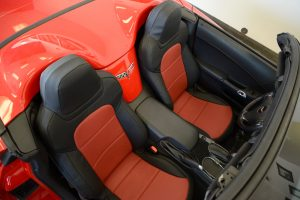 2013 chevy corvette red perf black softouch