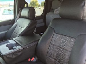 2014 f150 ebony croc black ostrich - seat covers from Covers and Camo