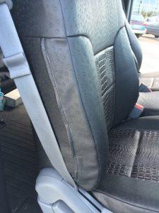 2014 f150 ebony croc black ostrich - airbag