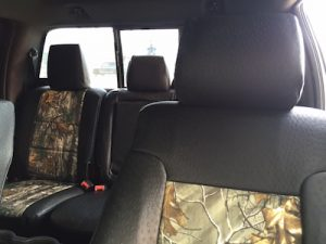 2013 f150 - realtree xtra black ostrich - front and back view