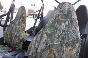 closer shot of camo seats