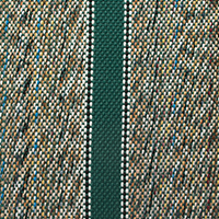 green saddle blanket
