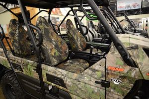 hit the road with camo seat covers