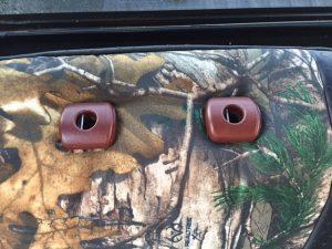 2013 f150 -mossy oak blade - rear adjusment
