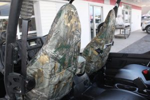 back on front seat - utv camo covers