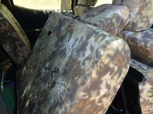 2016 Tacoma - Krytek Highlander - back row leaning
