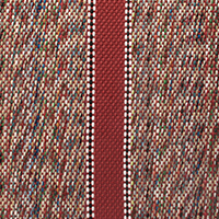 dark red saddle blanket