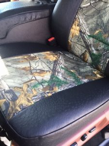 2013 f150 - realtree xtra black ostrich - bottom covered