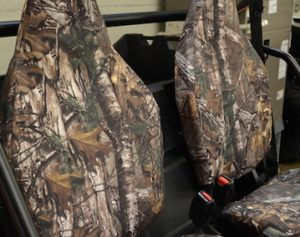 perfectly fit camo seat covers - utv
