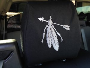 2008 f150 - realtree xtra/black dura - feathers and arrow