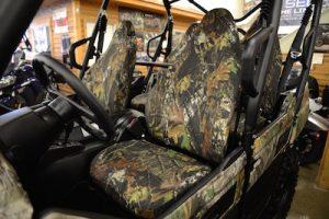 utv - seat cover - camo
