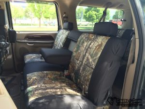 2004 excursion - realtree xtra/black dura - back row complete
