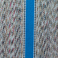 medium blue saddle blanket