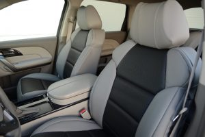 black and gray seat covers - other vehicles