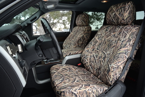 Ford F150 Mossy Oak Blade Camo Seat Cover Covers And Camo