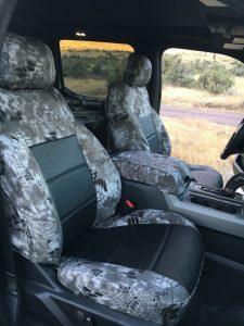 2016 F150 - Black Ostrich/Krytek Raid - passenger view