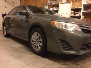 2012 Camry - Ebony Croc/Black Ostrich - vehicle