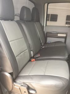 2016 F250 - med gray/charcoal - seat covers