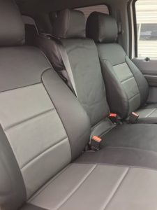 2016 F250 - med gray/charcoal - seats