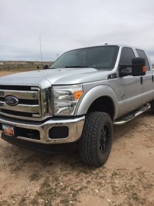 2016 F250 - med gray/charcoal - vehicle