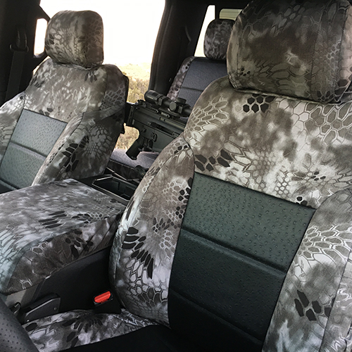 Check out our tactical exotic seat covers