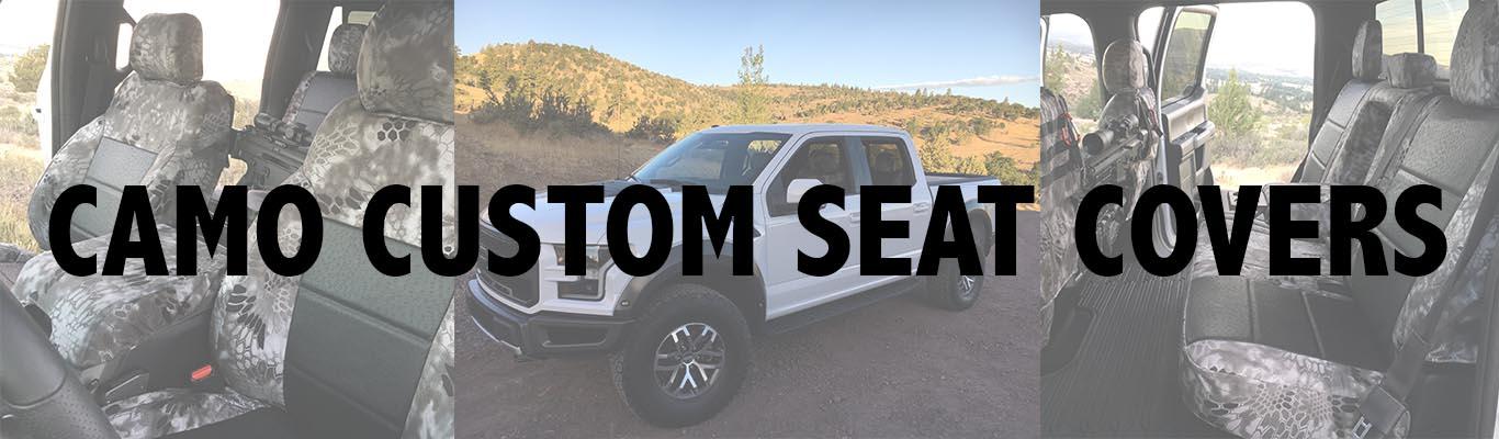 Camo Custom Seat Covers