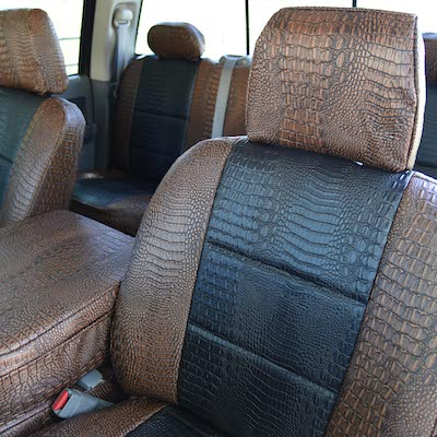 Covers and Camo offers seat covers in Exotic patterns