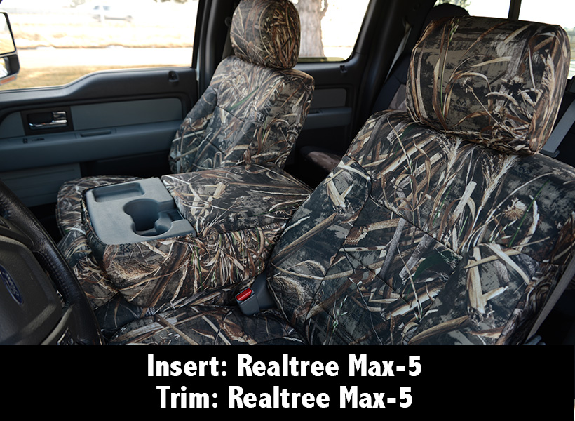 Realtree Max-5 Camo Seat Covers