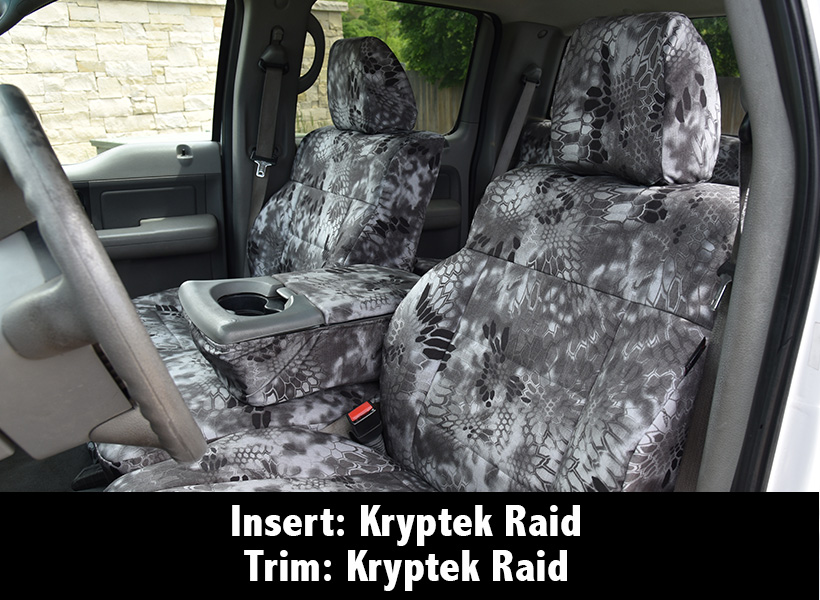 Kryptek Raid insert and trim combo