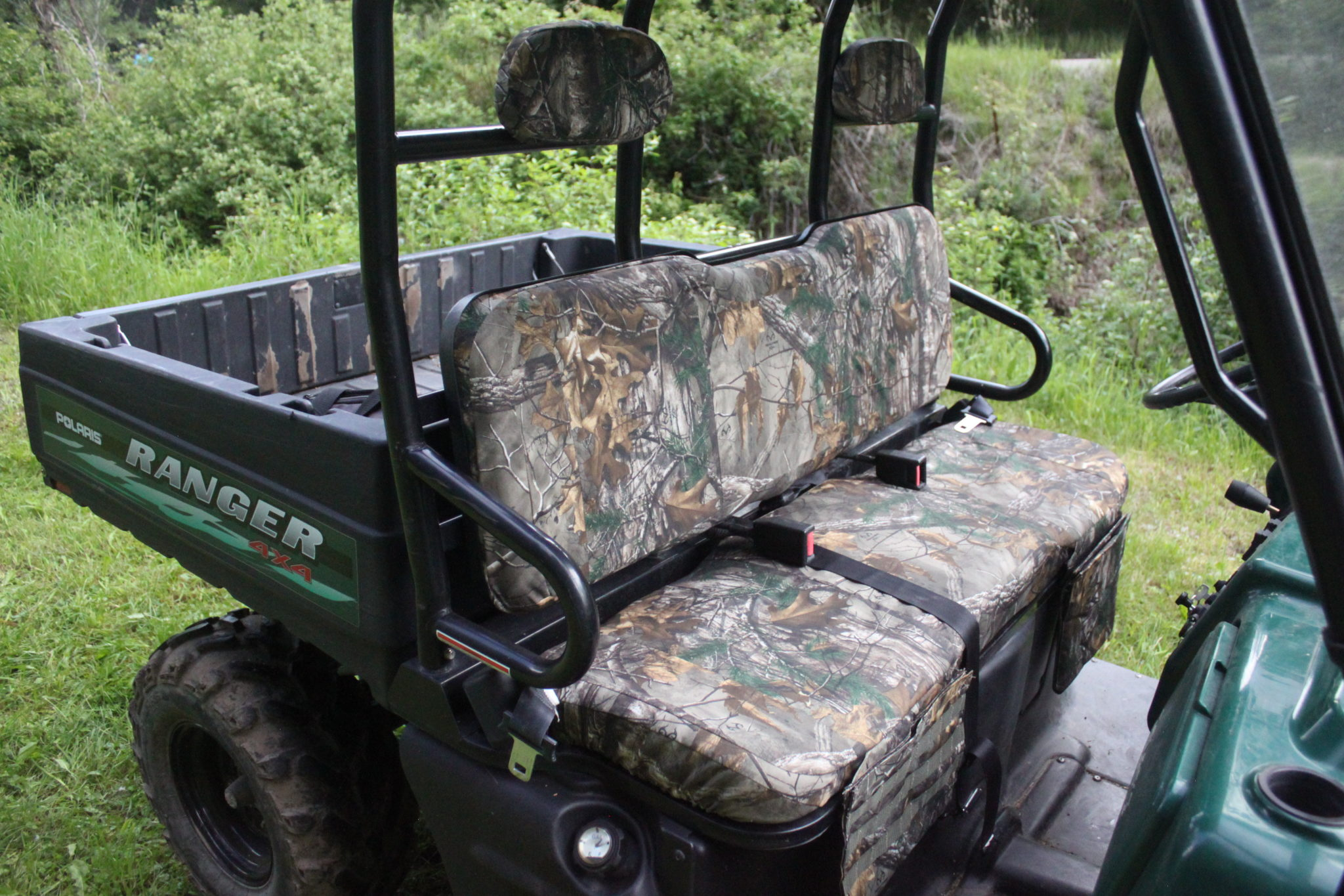 Realtree Xtra seat cover