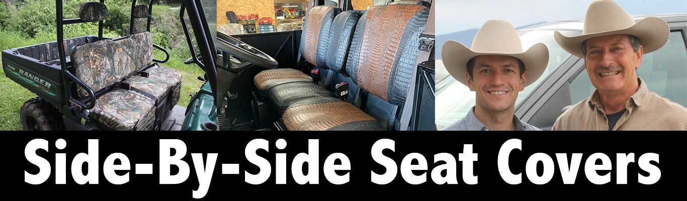 Side-X-Side Seat Covers Covers and camo