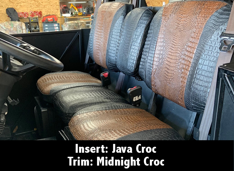 Can Am Defender Croc Seat Covers