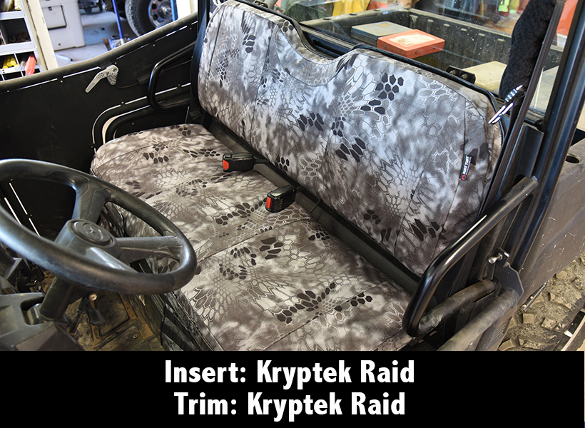 Polaris Ranger Kryptek Raid Seat Cover