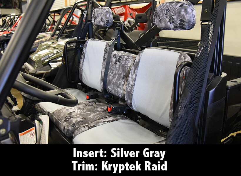 Polaris Ranger Kryptek Camo Seat Covers
