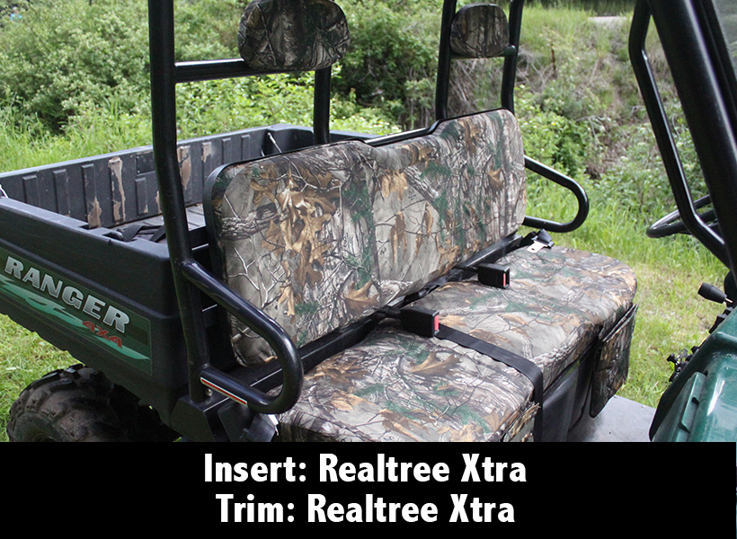 Polaris Ranger Camo Seat Covers